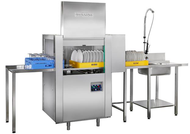 Rack Conveyor Dishwasher System 2